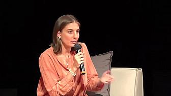 Audrey Briand, responsable des relations institutionnelles France d'Eutelsat à RuraliTIC 2020 @Eutelsat_SA @AudreyBriand1  @MTN_cote #Ruralitic2020 @cantalauvergne