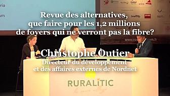 Christophe Outier, Directeur du développement et des affaires externes de Nordnet à Ruralitic 2020 @NordnetOFFICIEL @MTN_cote #Ruralitic2020 @cantalauvergne