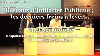 Gaël Sérandour, Responsable du Domaine Infrastructures Numériques de la Banque des territoires à RuraliTIC 2020 @handgs @BanqueDesTerr @MTN_cote #Ruralitic2020 @cantalauvergne