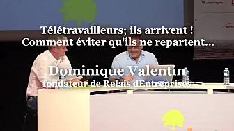 Dominique Valentin, fondateur de Relais d'Entreprises à RuraliTIC 2020 @ReseauRelais  @MTN_cote #Ruralitic2020 @cantalauvergne
