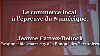 Jeanne Carrez-Debock, Responsable smart city à la Banque des Territoires à Ruralitic 2020 @CarrezDebock @BanqueDesTerr @MTN_cote #Ruralitic2020 @cantalauvergne