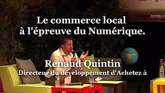 Renaud Quintin, Directeur du développement d'Achetez à  sur RuraliTIC 2020 @Acheteza