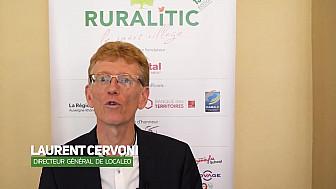 RuraliTIC 2019 :  interview de Laurent Cervoni, Directeur général de Localeo @RURALITIC2019 @localeo