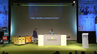 RURALITIC 2018 ; Débat agriculture numérique et territoire