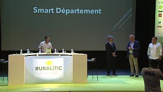 RURALITIC 2019: PRIX SMART DÉPARTEMENT : le Département du Loiret et son agence Loiret