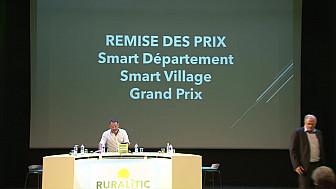 RURALITIC 2019: PRIX SMART VILLAGE pour la Commune d'Ottmarsheim et le GRAND PRIX pour l'association Les Tracols et la Communauté de Communes Royans-Vercors