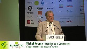 RuraliTIC 2018 :  discours introductif de Michel Roussy - Président de la Communauté d'Agglomération du Bassin d'Aurillac