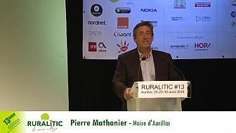 RURALITIC 2018 :  intervention introductive de Pierre Mathonier Maire d'Aurillac en ouverture de la 13ème édition de RuraliTIC