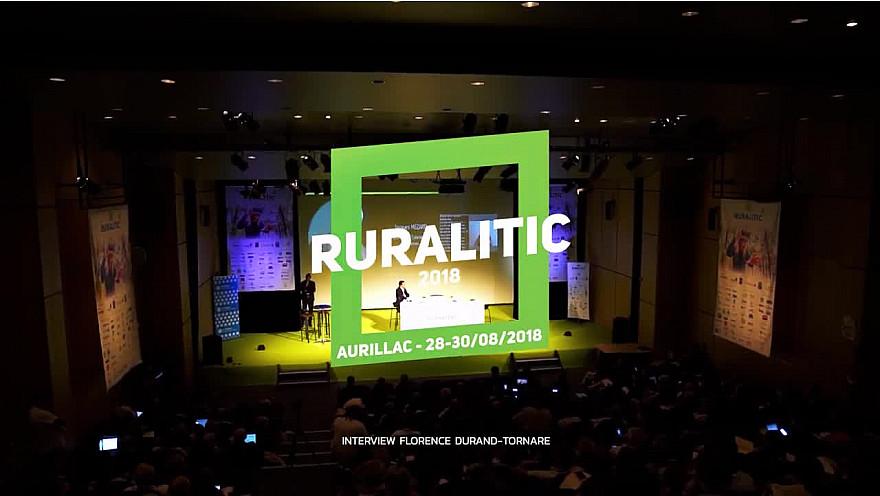 RuraliTIC 2018 ; interview de Florence Durand Tornare, déléguée générale de 'Villes Internet' @RURALITIC2019 @Villes_Internet
